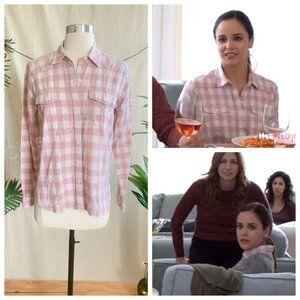 Tops - ASO Amy Santiago in Brooklyn Nine-Nine Pink Shirt